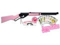 Daisy 1998 Air Rifle 177 Caliber BB Pink Wood Stock Matte Barrel with Fun Kit
