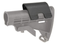 Command Arms Snap On Cheek Piece for M4-Style Collapsible Stock .7&quot; Height Polymer Black