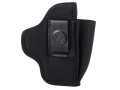 DeSantis Pro Stealth Inside the Waistband Holster Ambidextrous S&W M&P 9mm, 40 S&W, Sig P320C Nylon Black