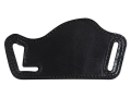 Bianchi 101 Foldaway #16 Outside the Waistband Holster Right Hand Large Frame Semi-automatics Leather Black