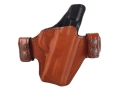 Bianchi Allusion Series 125 Consent Outside the Waistband Holster Right Hand Smith &amp; Wesson M&amp;P 9mm or 40 S&amp;W Leather Tan
