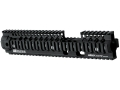 Daniel Defense Omega X 12.0 FSP Free Float Tube Handguard Quad Rail AR-15 Extended Carbine Length Aluminum Black