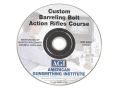 American Gunsmithing Institute (AGI) Video &quot;Custom Barreling Bolt Action Rifles&quot; DVD