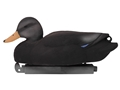 Tanglefree Pro Series Duck Decoy Weighted Keel Black Duck Duck Decoy Pack of 6