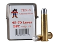 Ten-X Cowboy Ammunition 45-70 Government Lever Action 405 Grain Flat Point BPC Box of 20
