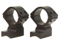 "Talley Lightweight 2-Piece Scope Mounts with Integral 1"" Rings Savage 10 Through 16, 110 Through 116 Round Rear, Axis Matte High"