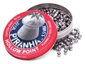 Crosman Piranha Premier Airgun Pellets 22 Caliber 14.3 Grain Hollow Point Tin of 400