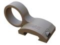 "Gear Sector Offset Picatinny Rail Flashlight Mount Surefire G2 Series 1.020"" Ring Diameter AR-15 Aluminum"