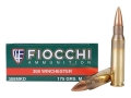 Fiocchi Exacta Ammunition 308 Winchester 175 Grain Sierra MatchKing Hollow Point Box of 20