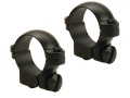 Leupold 1&quot; Ring Mounts Ruger #1, 77/22 Matte Low