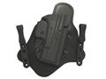 "Comp-Tac Minotaur MTAC Inside the Waistband Holster Right Hand 1911 4.25"" Commander Kydex and Leather Black"