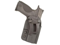 Comp-Tac QI Inside the Waistband Holster Ambidextrous Size 4 1911 Government, Commander, Officer with or without Rail Kydex Black