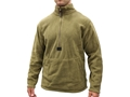 Military Surplus Fleece Pullover Polyester Coyote