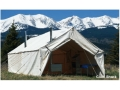 Montana Canvas 18' x 23' Wall Tent Montana Blend with 2 Doors (East and West) and 2 Stove Jacks (1 NE Corner and 1 SW Corner)
