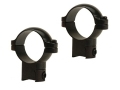 Leupold 1&quot; Ring Mounts Rimfire 3/8&quot; Grooved Receiver Gloss High