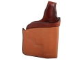 Bianchi 152 Pocket Piece Pocket Holster Right Hand Smith & Wesson J-Frame Leather Brown