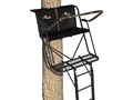 Big Game Sky-Rise Ladder Double Treestand Steel Black