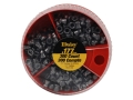 Daisy Dial a Pellet Airgun Pellets 177 Caliber (100 Flat, 100 Pointed and 100 Hollow Point)