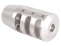 "PRI Muzzle Brake Quiet Control 1/2""-28 Thread AR-15 Stainless Steel"