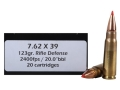 Product detail of Doubletap Ammunition 7.62x39mm 123 Grain Rifle Defense Box of 20
