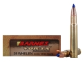 Barnes VOR-TX Ammunition 35 Whelen 180 Grain Tipped Triple-Shock X Bullet Flat Base Box of 20