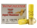 Product detail of Winchester Super-X Super Pheasant Ammunition 20 Gauge 3&quot; 1-1/4 oz #4 Copper Plated Shot Box of 25