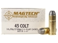 Magtech Cowboy Action Ammunition 45 Colt (Long Colt) 250 Grain Lead Flat Nose Box of 50