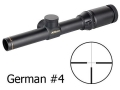 Product detail of Nikon Monarch African Series Rifle Scope 1-4x 20mm German #4 Reticle Matte