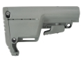 Mission First Tactical Battlelink Utility Low Profile Collapsible Buttstock AR-15, LR-308 Polymer