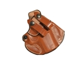 DeSantis Cozy Partner Inside the Waistband Holster Right Hand Smith &amp; Wesson M&amp;P Shield Leather Tan