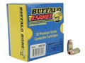 Buffalo Bore Ammunition 45 GAP 160 Grain Barnes TAC-XP Jacketed Hollow Point Lead-Free Box of 20