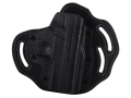 DeSantis Intimidator Outside the Waistband Holster Right Hand Sig Sauer P229, P229R, P229DAK P220, P220R, P226 Kydex and Leather Black