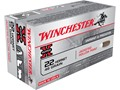 Winchester Super-X Ammunition 22 Hornet 46 Grain Jacketed Hollow Point