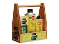 Remington Rem Oil Gun Oil 100th Aniversary 3 Bottle Kit with Wood Box