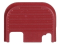 Lone Wolf Slide Cover Plate Glock all Models Red