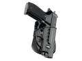 Product detail of Fobus Evolution Paddle Holster Right Hand Sig Sauer P226 and P220 Polymer Black