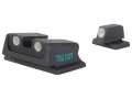 Meprolight Tru-Dot Sight Set S&amp;W M&amp;P, M&amp;P Compact Steel Blue Tritium Green