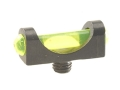 "Marble's Expert Shotgun Front Bead Sight .094"" Diameter M3x0.5 Thread 3/32"" Shank Extra-Lum Fiber Optic Green"