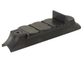 NECG Classic Express Rear Sight with Island Base 3-Leaf Small for .600&quot; to .675&quot; Diameter Barrel Steel Blue