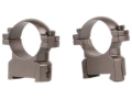 Leupold 1&quot; Ring Mounts CZ 550 Matte Medium