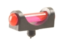 "Marble's Expert Shotgun Front Bead Sight .094"" Diameter 3-56 and M2.5x0.45 Thread 3/32"" Shank Extra-Lum Fiber Optic Orange"