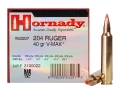 Product detail of Hornady Varmint Express Ammunition 204 Ruger 40 Grain V-Max