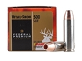 Federal Premium Vital-Shok Ammunition 500 S&amp;W Magnum 275 Grain Barnes XPB Hollow Point Lead-Free Box of 20