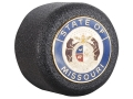 Product detail of ASP Missouri State Seal Logo Baton Cap State Logo Cap 4140 Steel with Brass Emblem Black