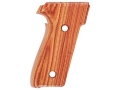 Hogue Fancy Hardwood Grips Sig Sauer P228, P229 Checkered Tulipwood