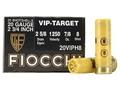 "Fiocchi Exacta Target Ammunition 20 Gauge 2-3/4"" 7/8 oz #8 Shot"