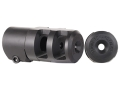 "Product detail of Badger Ordnance FTE Muzzle Brake 5/8""-24 Thread .800"" Minimum Barrel Diameter Steel"