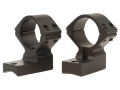 "Talley Lightweight 2-Piece Scope Mounts with Integral 1"" Rings Extended Front Weatherby Magnum Matte High"