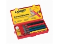 Lansky Deluxe Knife Sharpening System with Extra Coarse, Coarse, Medium, Fine and Ultra-Fine Hones