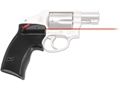 Crimson Trace Defender Series Accu-Grips Laser S&amp;W J-Frame and Taurus Small Frame Polymer Black